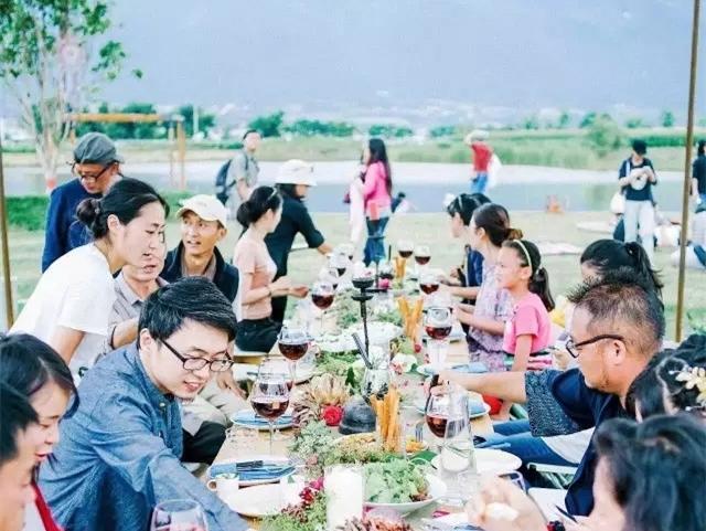 大理柴米多农场餐厅和生活市集,邻里社群关系探索