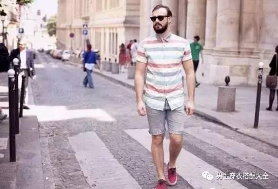 微胖男也有出头的一天!夏季微胖男士穿搭术? 男士时尚 图7