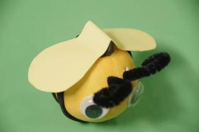 幼儿园创意手工制作:春天里的小昆虫图片