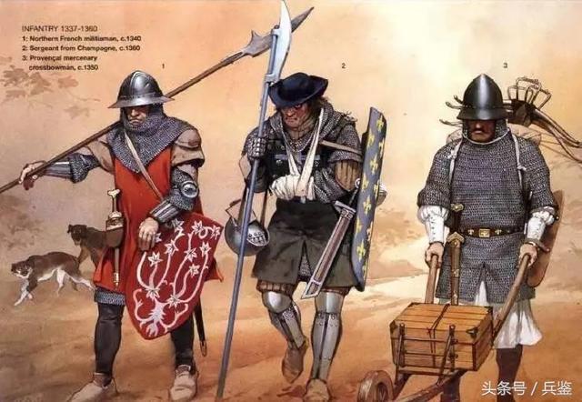 尴尬的中世纪西欧雄狮:法军很强大?其实核心力量都不是自己人!图片