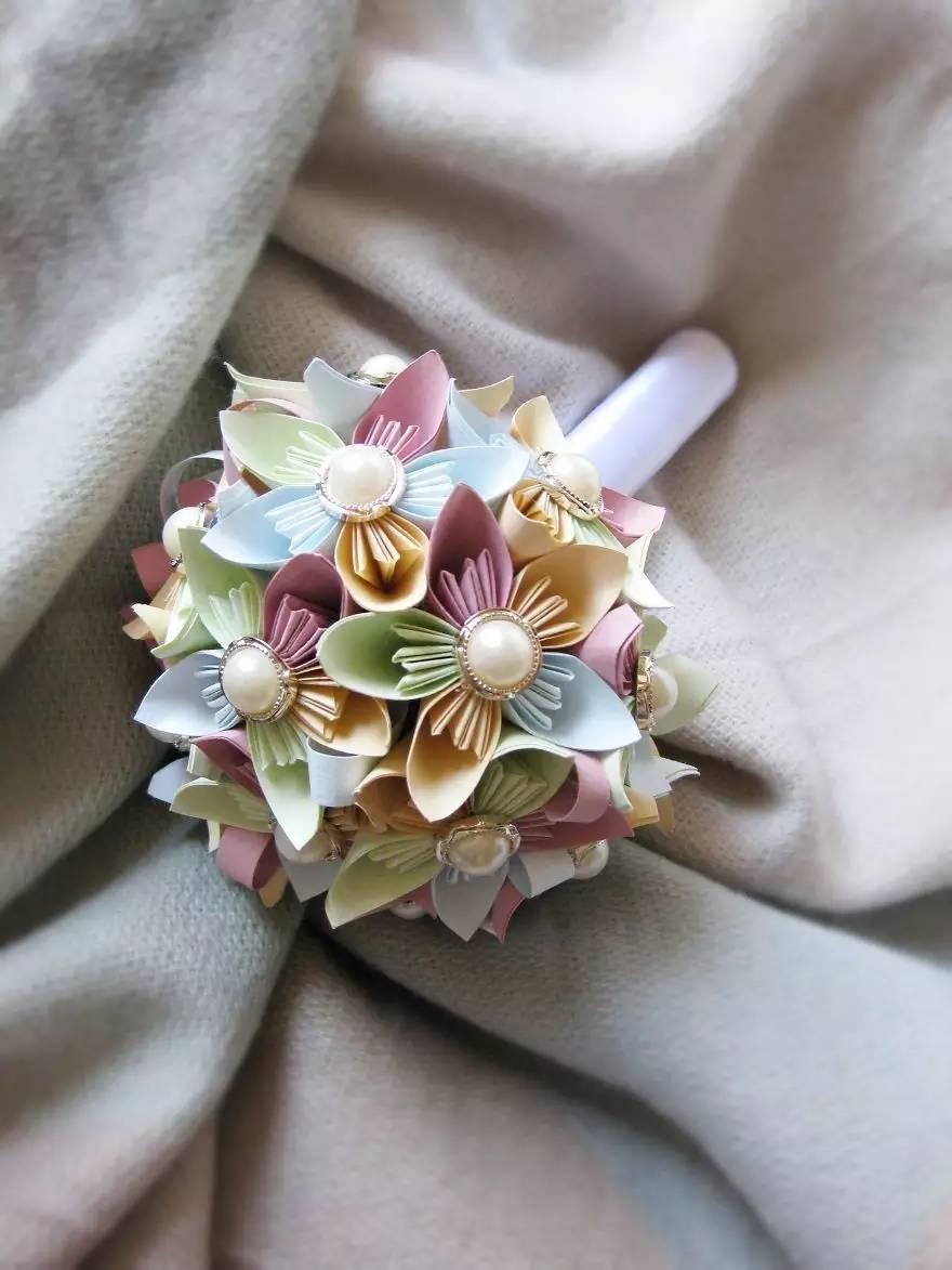 折纸绣球丨纯白婚礼的最佳点缀