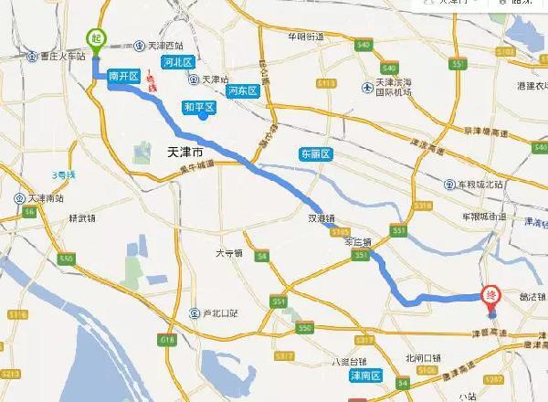 天津西青区规划图2018