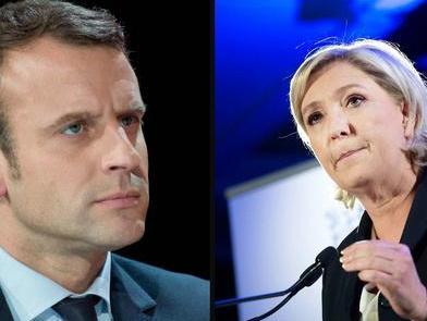 最新民调示意马克隆将击败勒庞当选法国总统
