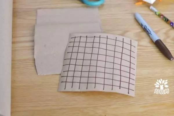 幼儿园毛线新玩法,玩偶 拼贴画瞬间 get