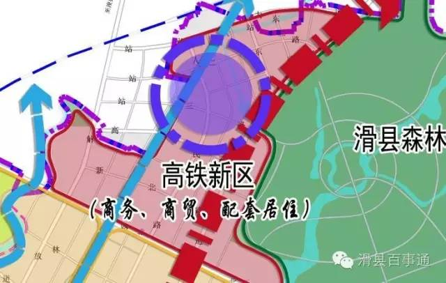 滑县龙湖规划图