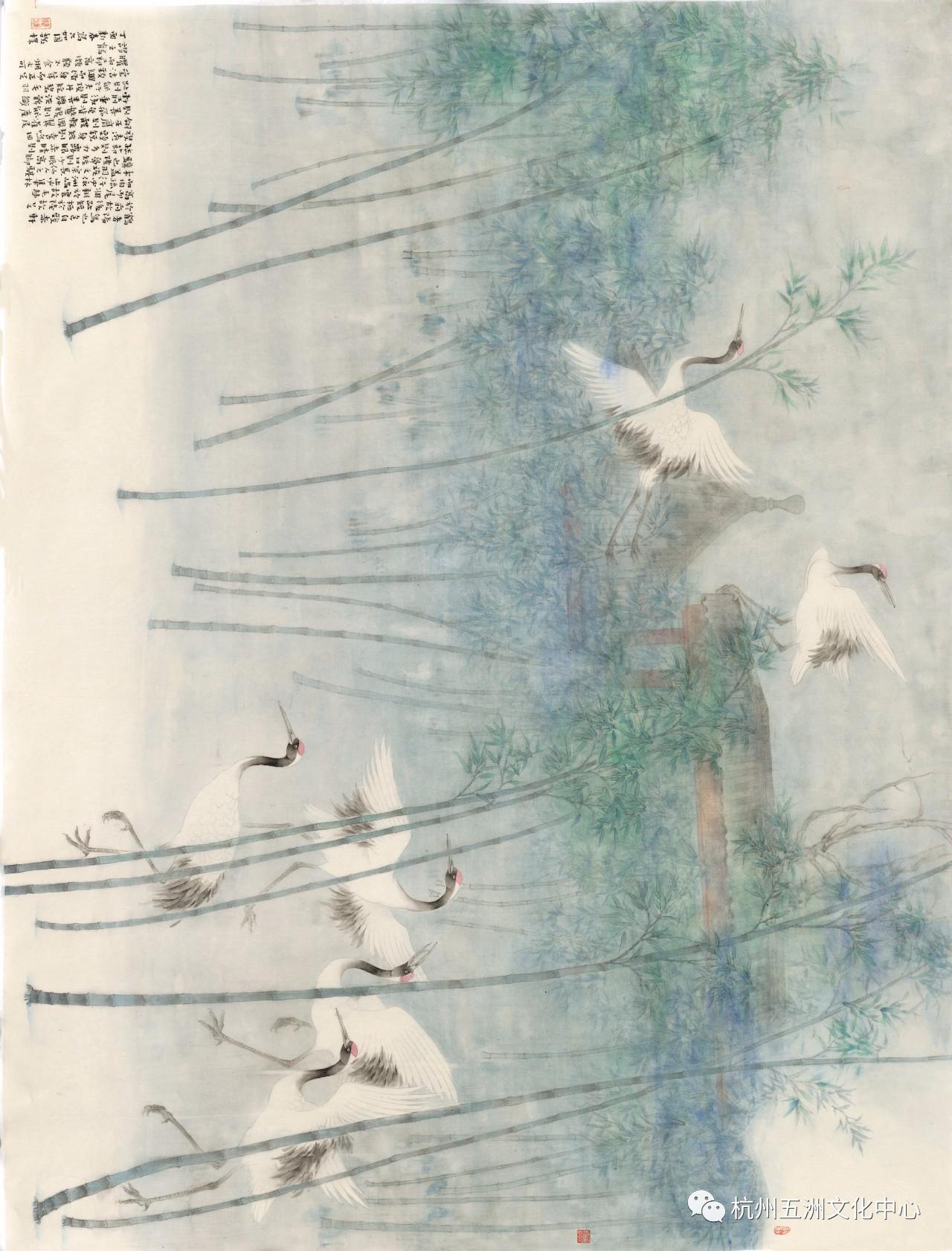 五洲| 历代名家画鹤图片