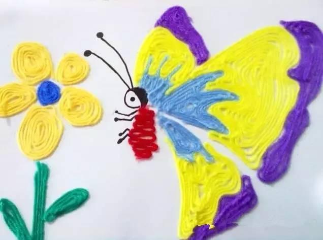 7幅彩色浸蜡剪纸拼贴画作品组成的 前传 青鱼案
