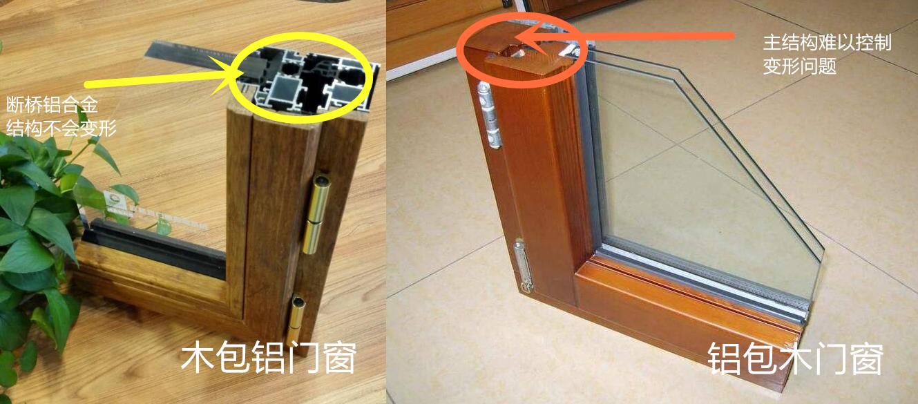 专业解读:木包铝门窗大奖网与铝包木门窗有什么区别