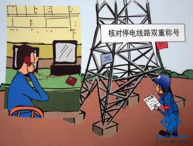 工作许可人核对停电线路双重称号-图文解析架空输电线路邻近带电导