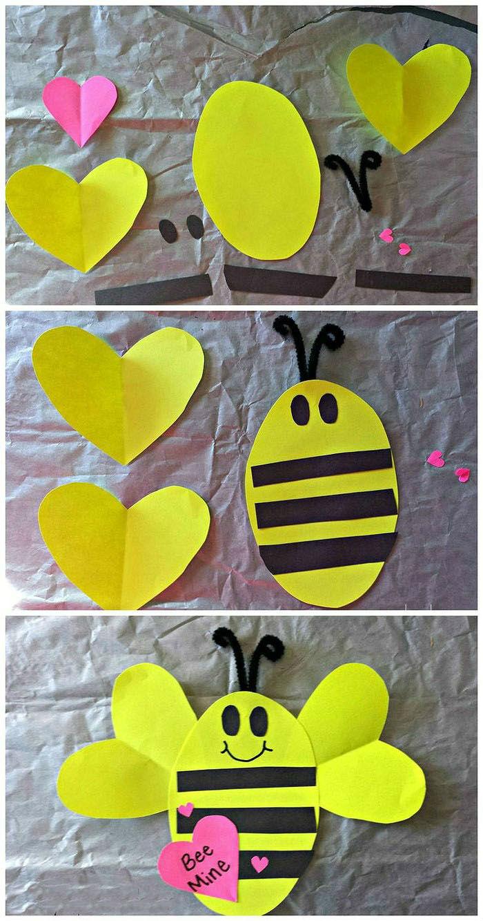 幼儿园创意手工制作:春天里的小昆虫