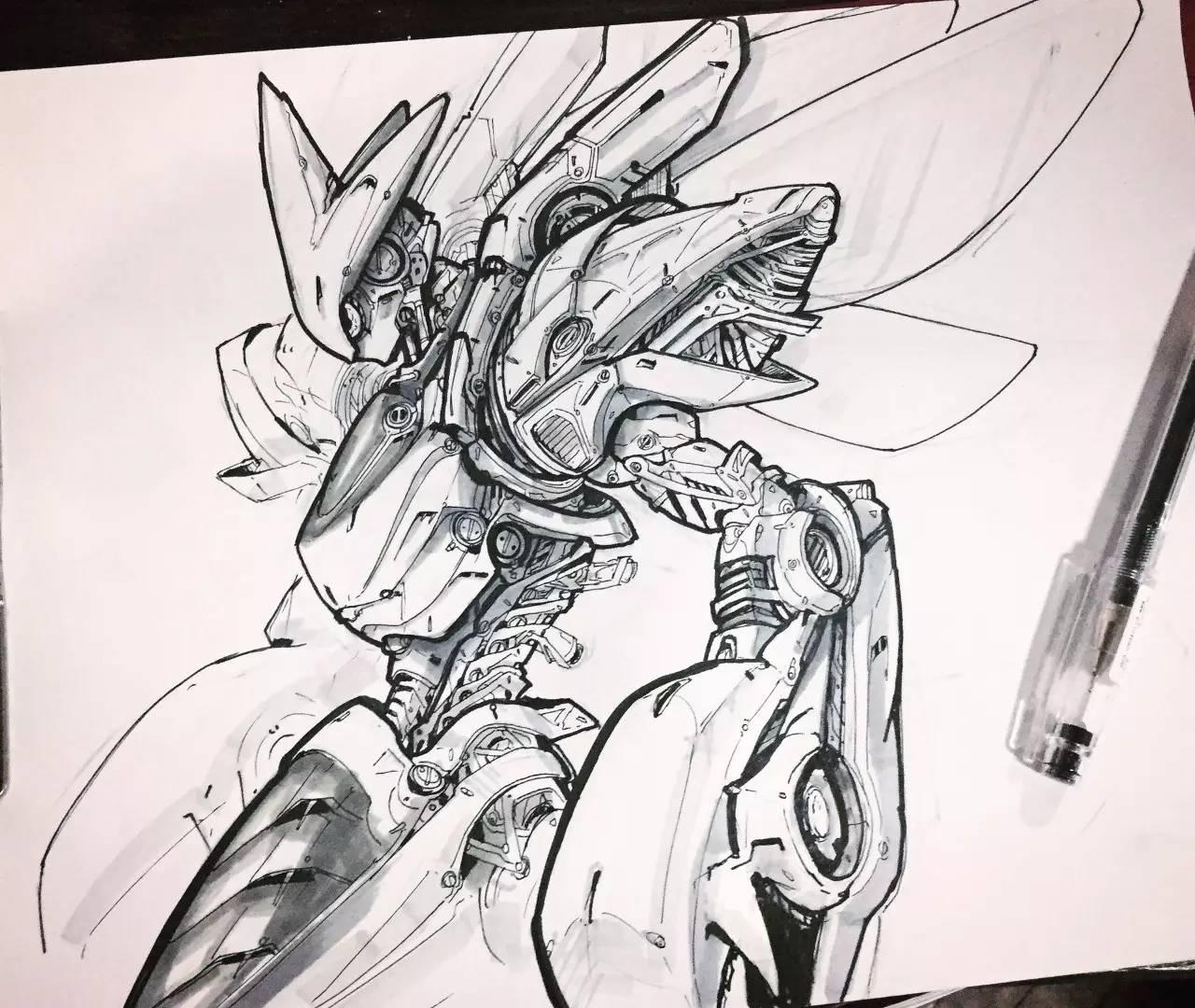 手绘速写 | 手绘概念设计最赞了