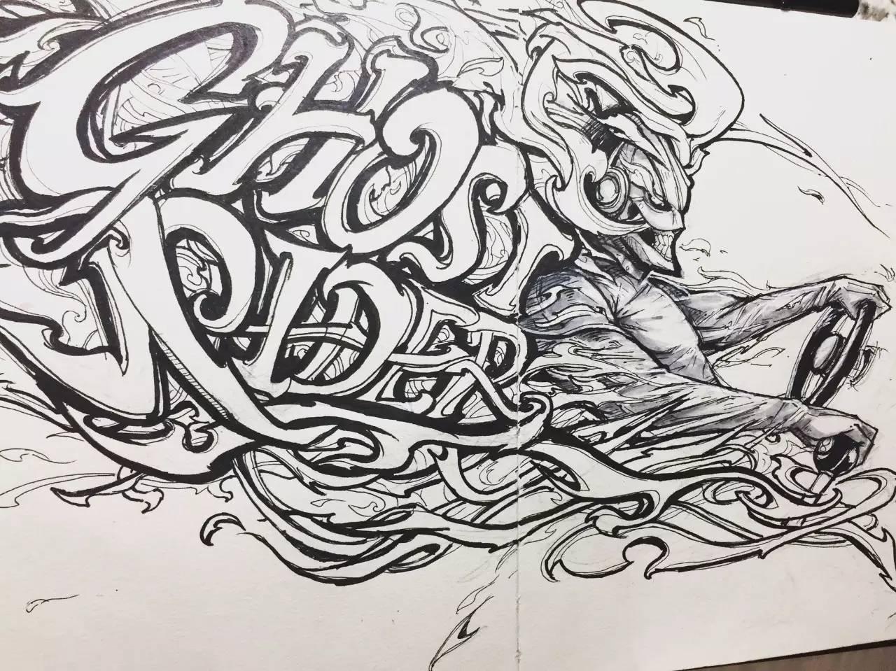 手绘速写 手绘概念设计最赞了