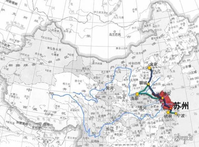 城市设计|京杭大运河苏州段