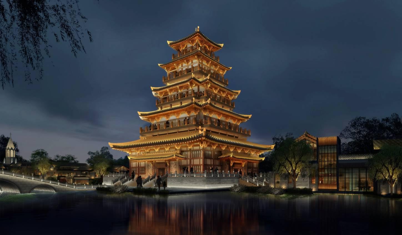 建筑 旅游 寺 塔 1448_846图片