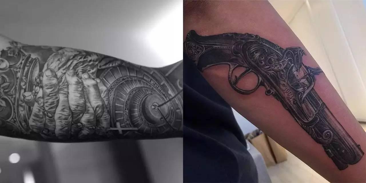 我的朋友是干纹身的!挺好的图片