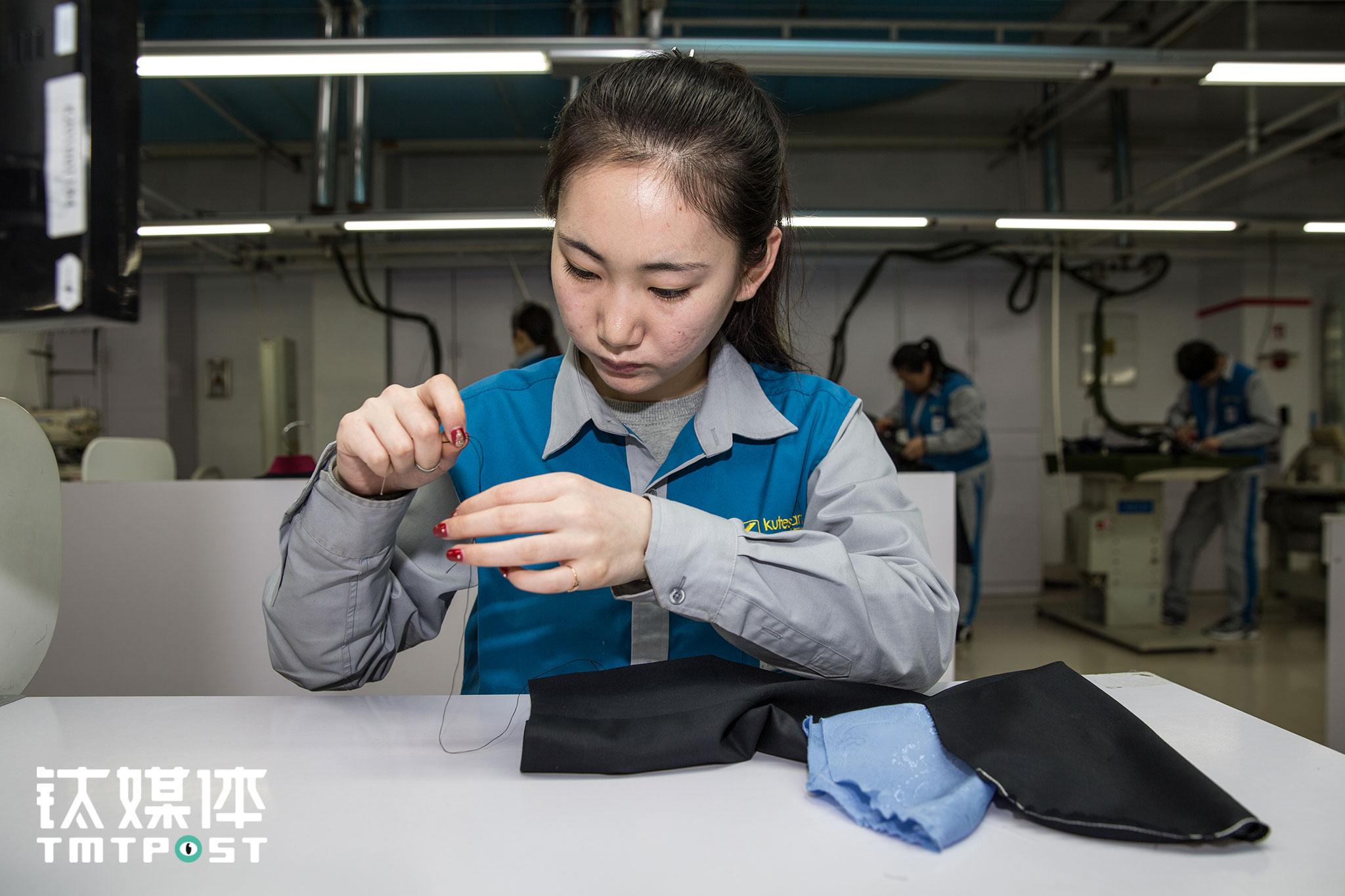 酷特服装工厂:新流水线,新工人丨钛媒体《在