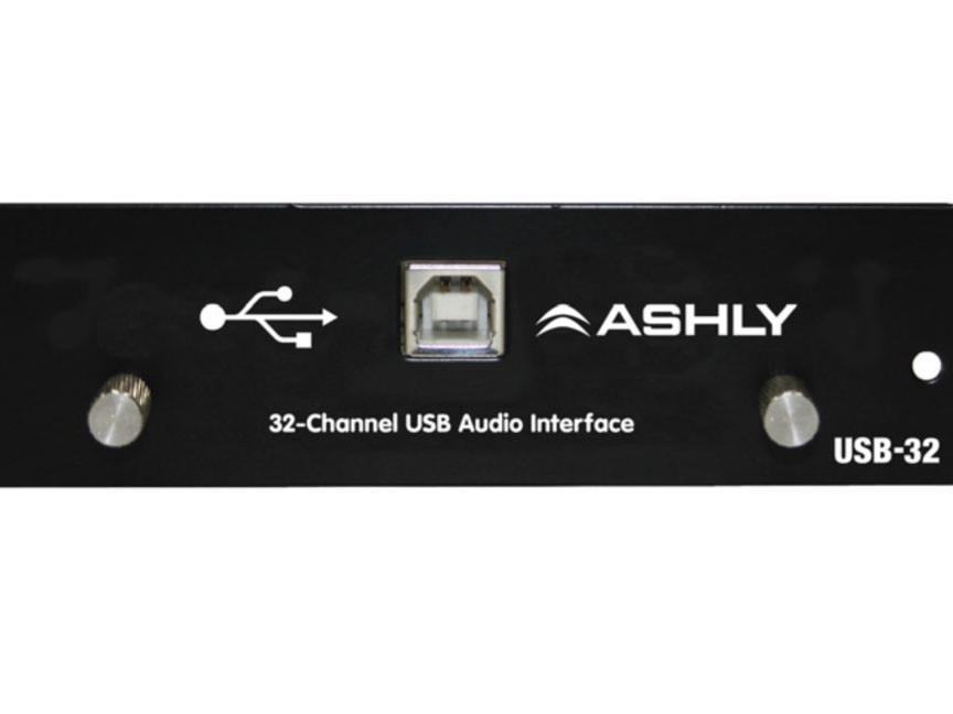 美国雅士尼USB-32 32通道音频卡