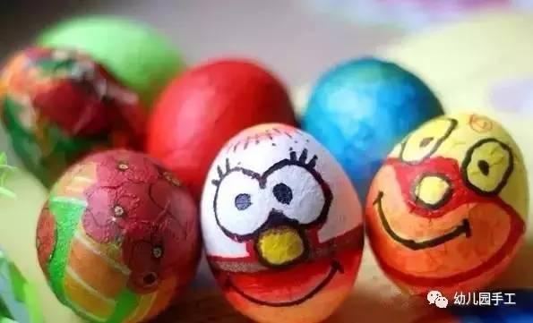 幼儿园鸡蛋壳创意手工大全