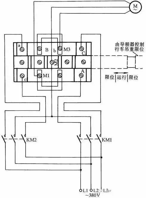 科技 正文  这里介绍一种常用限位器接线方法,这种限位器主要用于行车