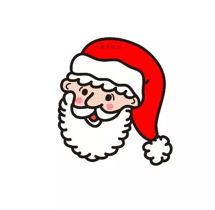 简笔画教程 | 圣诞老爷爷