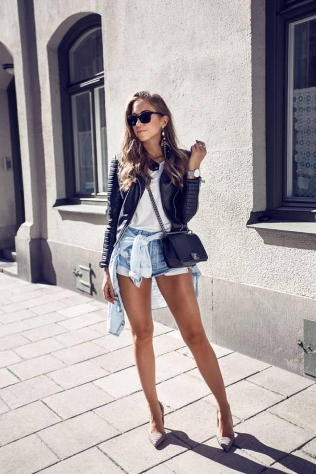 穿搭必备 | 牛仔短裤拯救你的日常搭配,潮流整个夏天