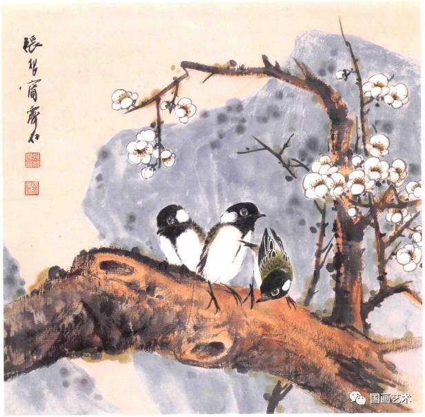 白腊梅花山雀孔雀东南飞是我国图片