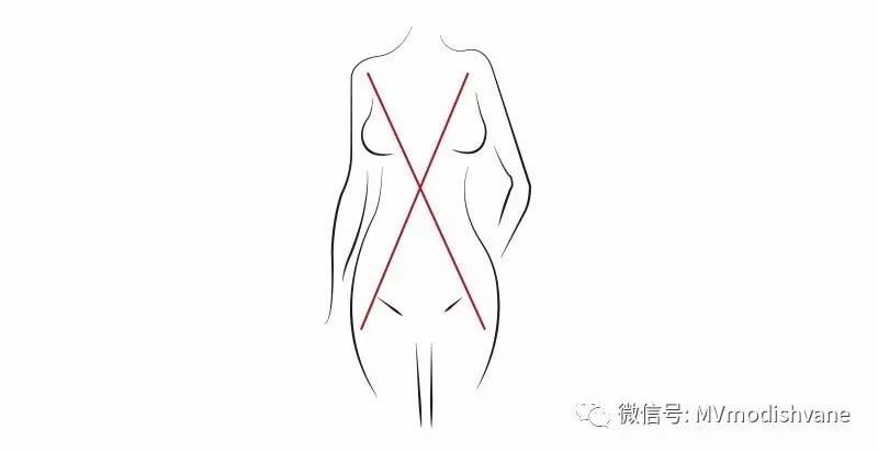x型裙手绘