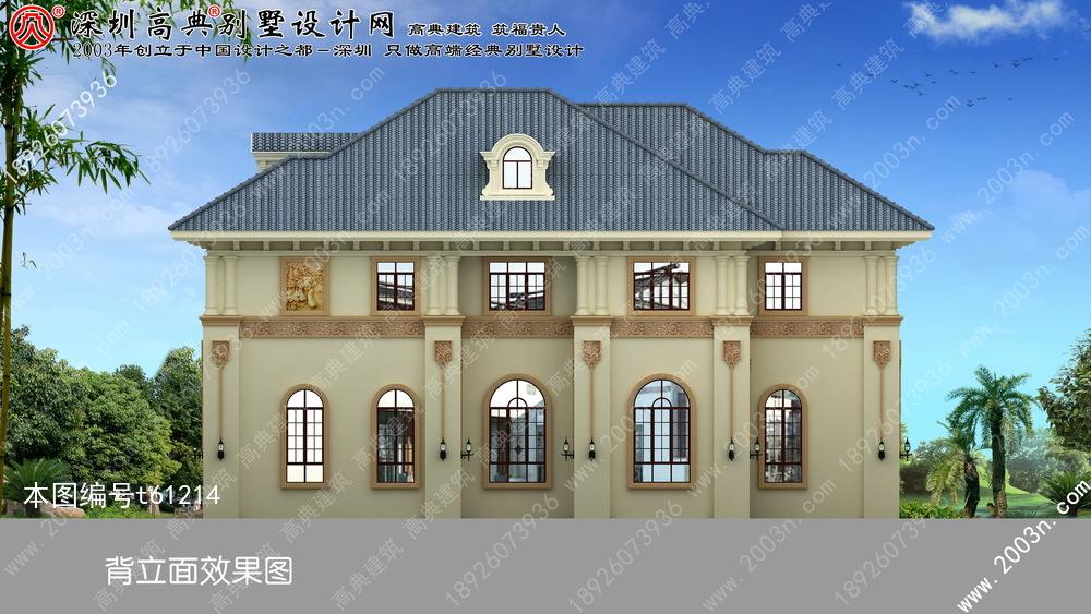 二层小型别墅效果图首层200平方米