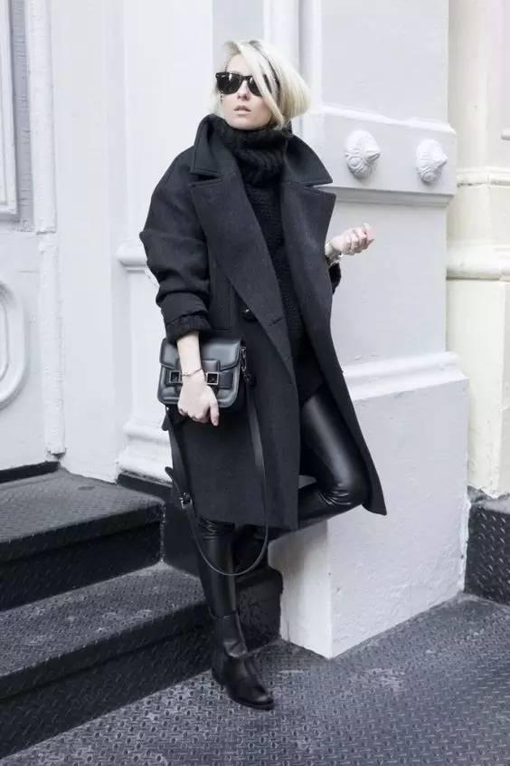 这三款平底鞋配大衣,经典又时髦,绝对是气场十足! 服饰潮流 图69