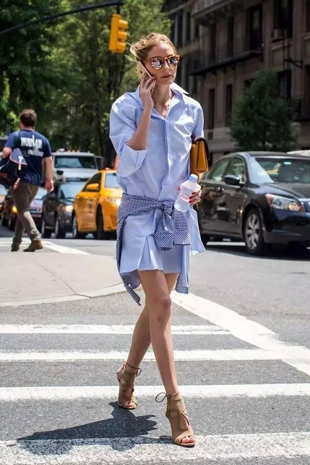 """春天穿""""大""""不穿""""小"""",这8件衣服越大越时髦! 服饰潮流 图24"""