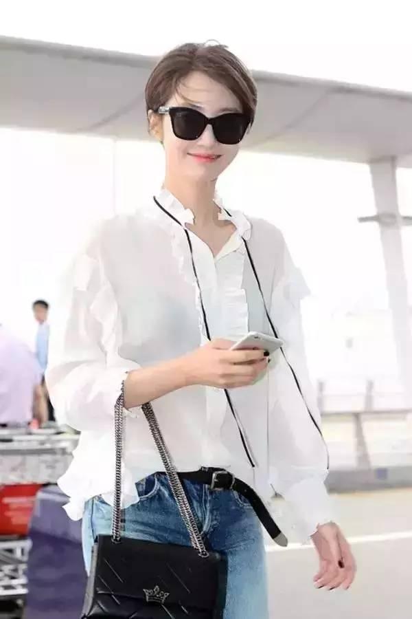 别说白衬衫太一般?那是你没穿这几件! 服饰潮流 图13