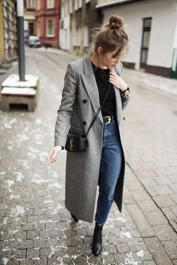 这三款平底鞋配大衣,经典又时髦,绝对是气场十足! 服饰潮流 图81
