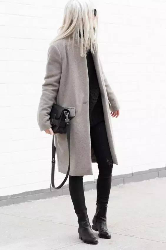 这三款平底鞋配大衣,经典又时髦,绝对是气场十足! 服饰潮流 图77