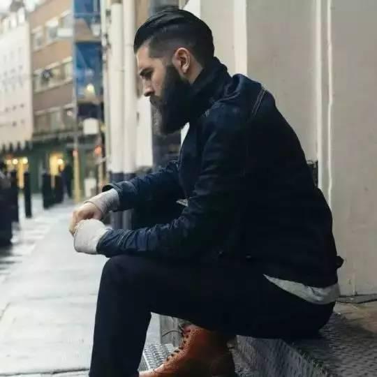 发型|长发又不惹你,反正这几个发型能让你与众不同 男士时尚 图29
