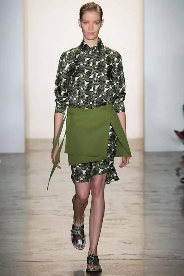 经典百搭的气质衬衫裙又火了,时髦又有女人味! 服饰潮流 图50