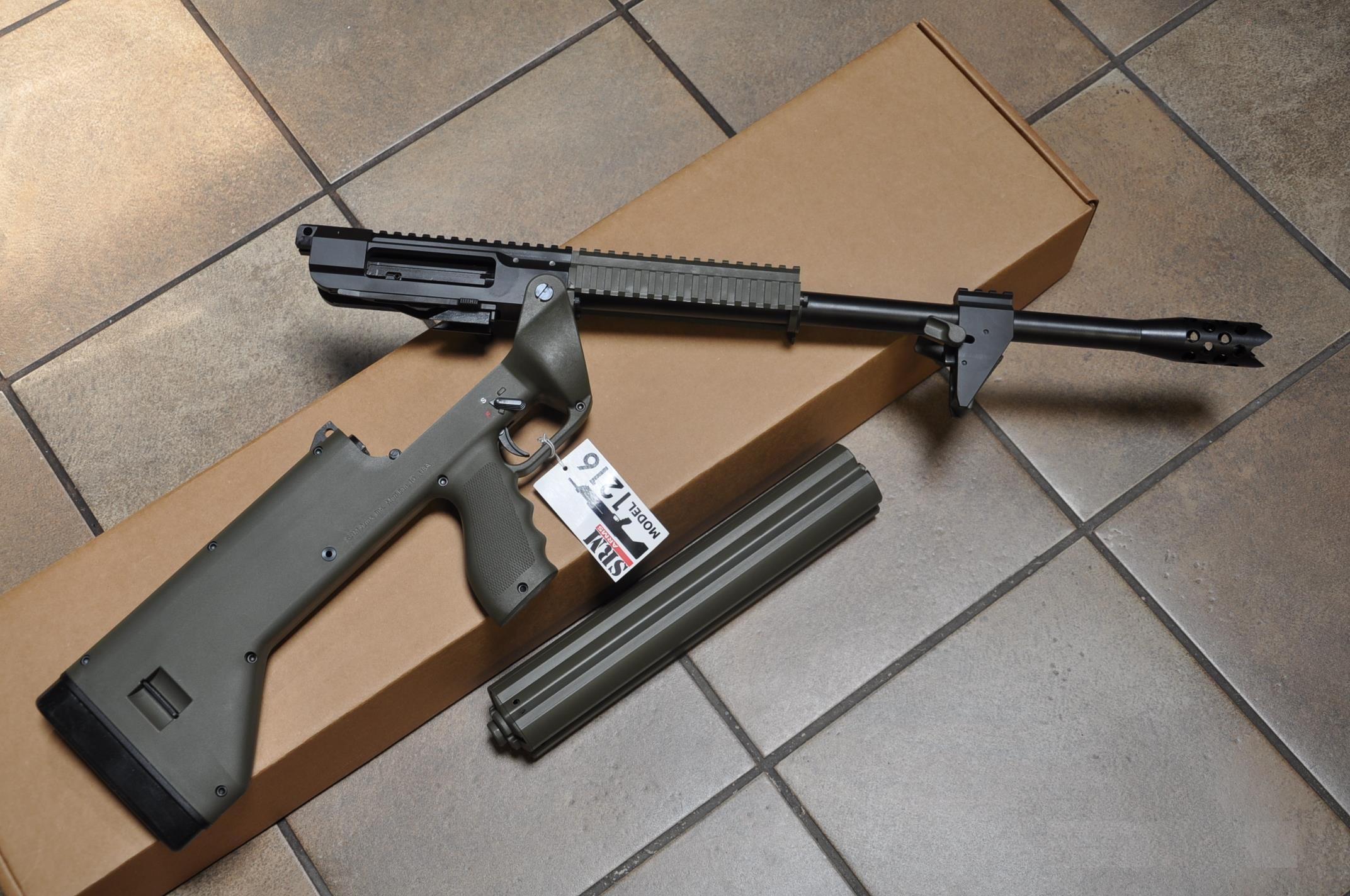 美霰弹枪配旋转弹筒 每分钟射速超百发 M1216