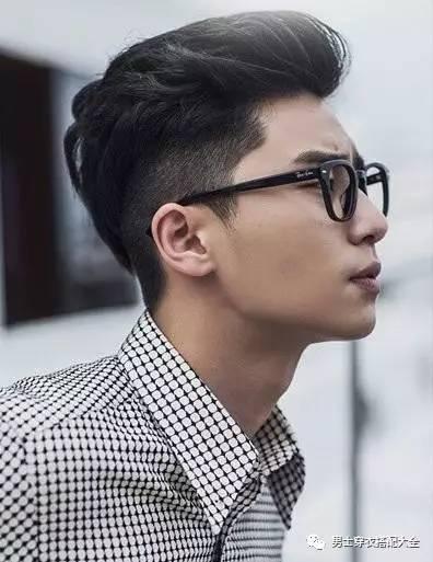 亚洲型男2017流行发型4大经典款 男士时尚 图7