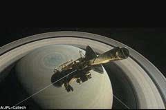 最后的绝唱!卡西尼号开始坠落探索土星神秘地带