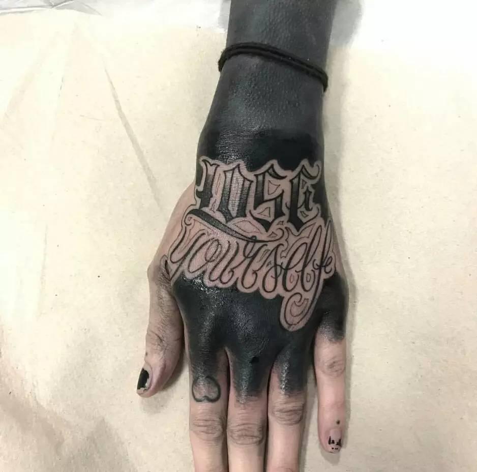 每日纹身图集|黑臂来了,花臂别怂!史上最吊最酷炫的纹身全遮盖!