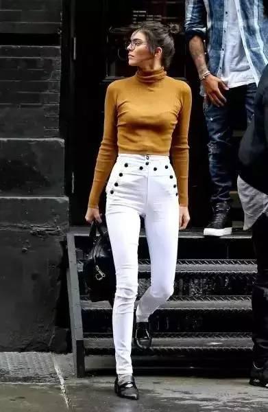 白裤子显胖?NO!这样穿搭,你也能又高又瘦! 服饰潮流 图23