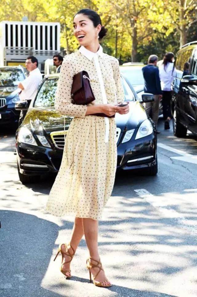经典百搭的气质衬衫裙又火了,时髦又有女人味! 服饰潮流 图35