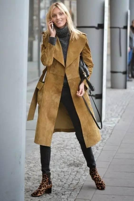 这三款平底鞋配大衣,经典又时髦,绝对是气场十足! 服饰潮流 图87