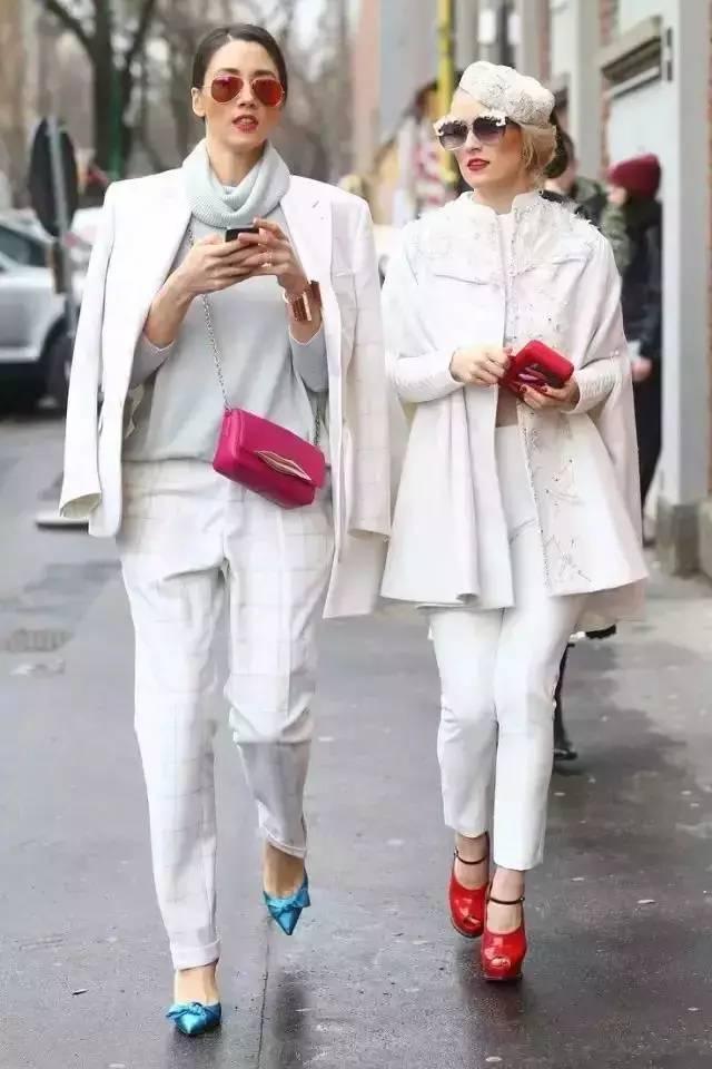 白裤子显胖?NO!这样穿搭,你也能又高又瘦! 服饰潮流 图3