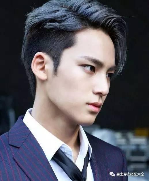 亚洲型男2017流行发型4大经典款 男士时尚 图11