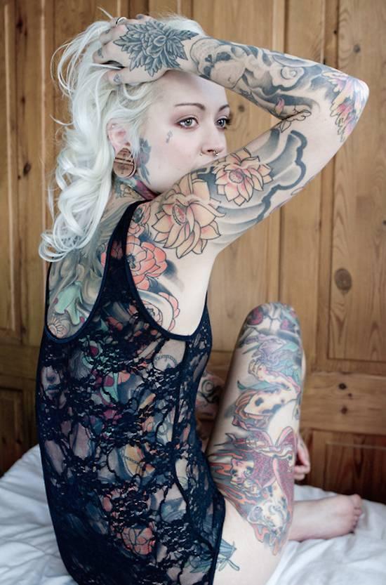 Tattoo & girl 生活方式 图9