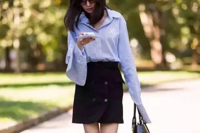 别说白衬衫太一般?那是你没穿这几件! 服饰潮流 图22