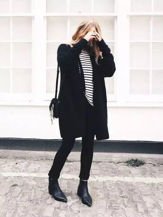 这三款平底鞋配大衣,经典又时髦,绝对是气场十足! 服饰潮流 图72