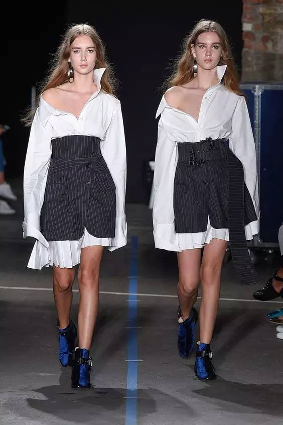 经典百搭的气质衬衫裙又火了,时髦又有女人味! 服饰潮流 图49