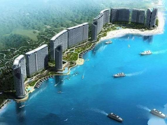 融创海湾半岛推出51-87平方米一线海景房