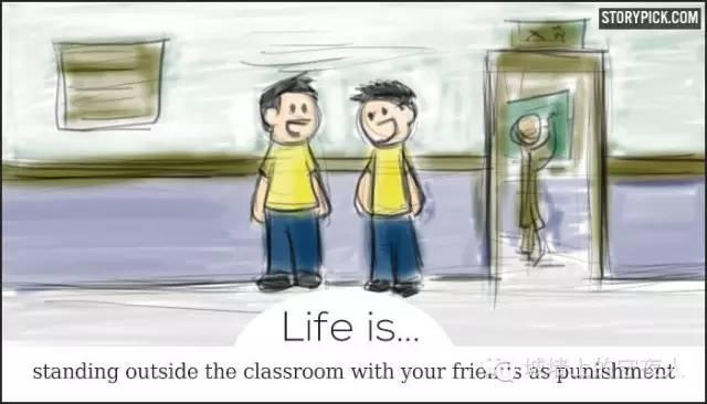 """【荐读】一组刷爆""""朋友圈""""的漫画:人生的意义 - star - 金融期货"""